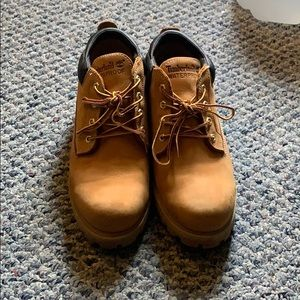 Low top timberland boots